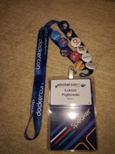 My DockerCon EU '17 badge