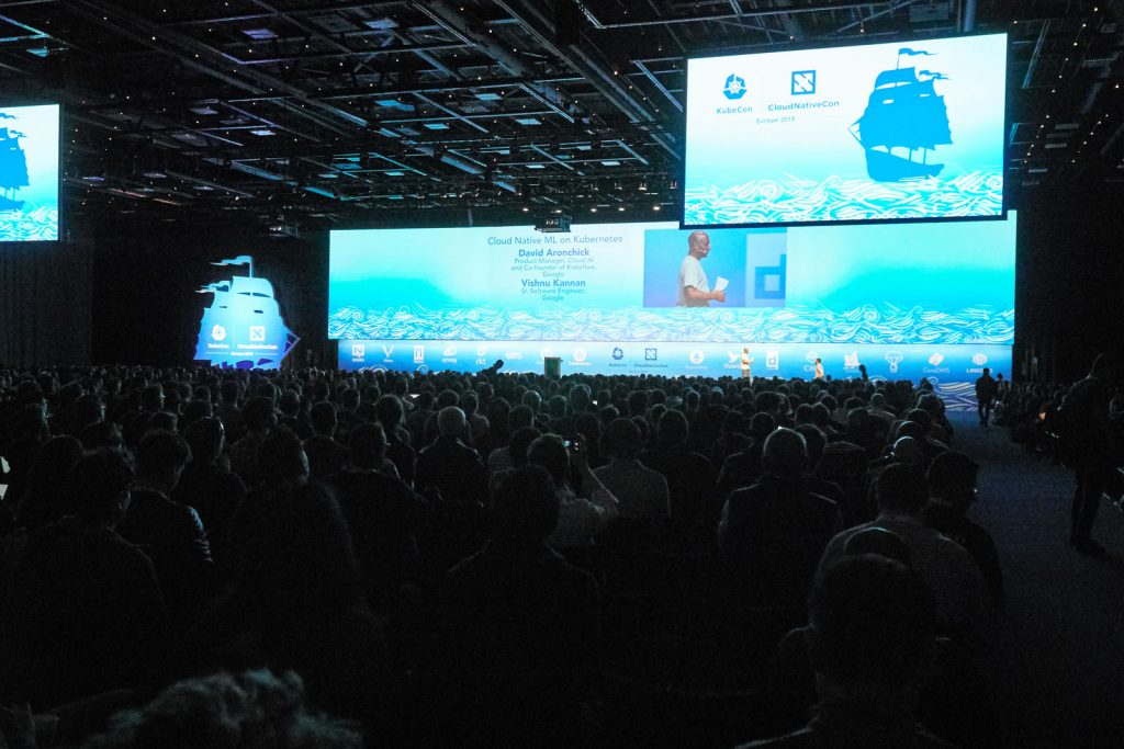 KubeCon - keynotes session